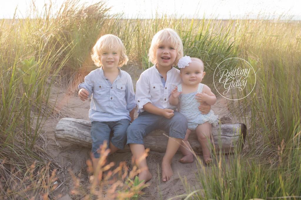 Beach Photographer   Nora 6 Months   Mentor Headlands Beach