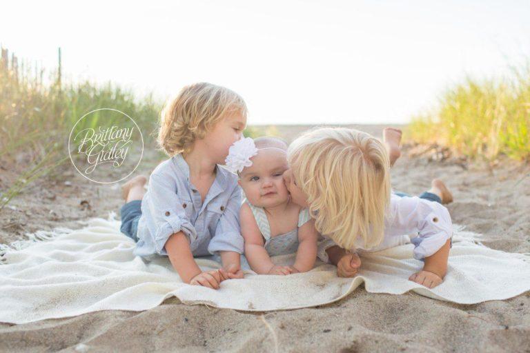 Baby Photographer   Headlands Beach   Sunset   Golden Hour