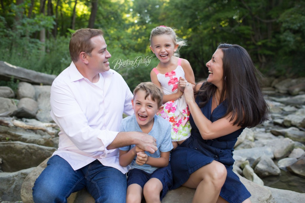 Chagrin Falls Family Photographer | The Booher Family