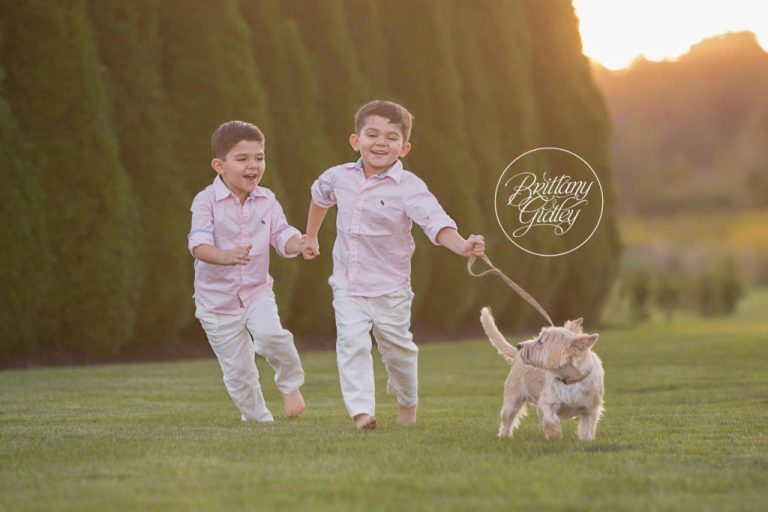 Family Photography | A Boy and His Dog | Chagrin Falls Ohio Photographer