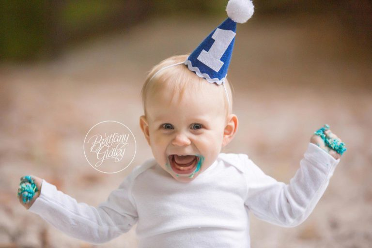 Cake Smash Photographer | Park | Cleveland Ohio