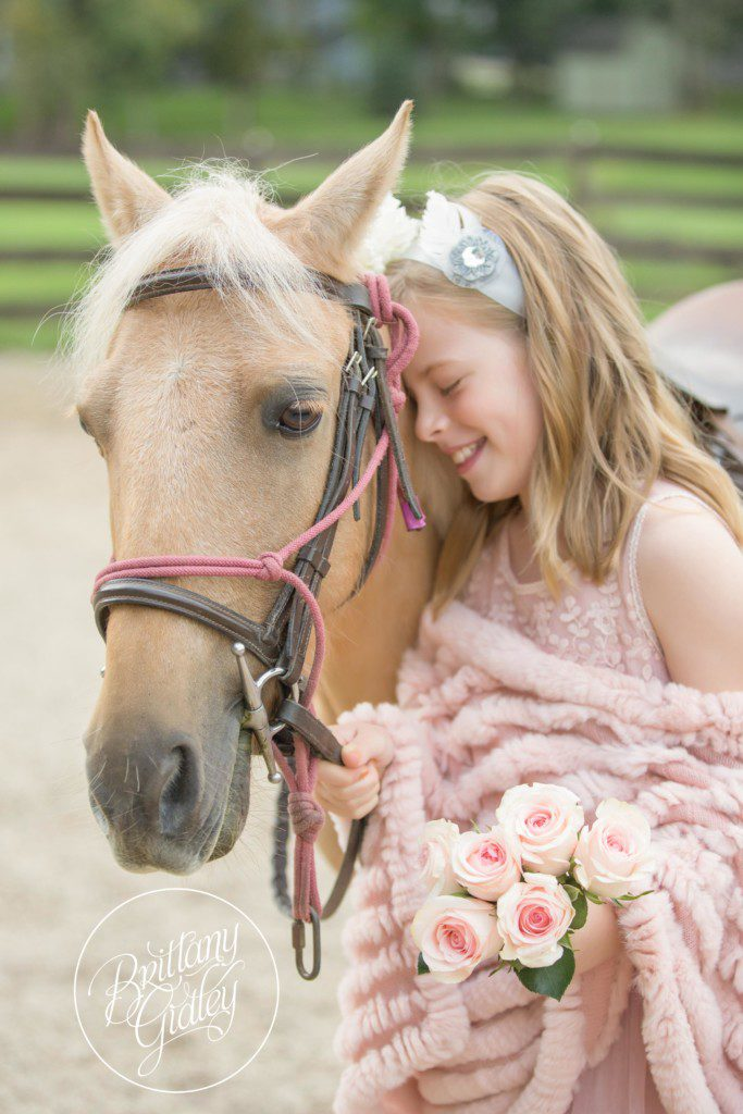 Pony Farm | Paper Flowers | Ponies | Equine Photography | Cleveland | Start With The Best | Dream Session | Photo Shoot