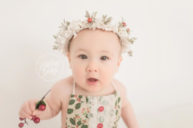 Baby Photography | Holiday Photo Shoot | Baby Photo Session | 9 Month Baby