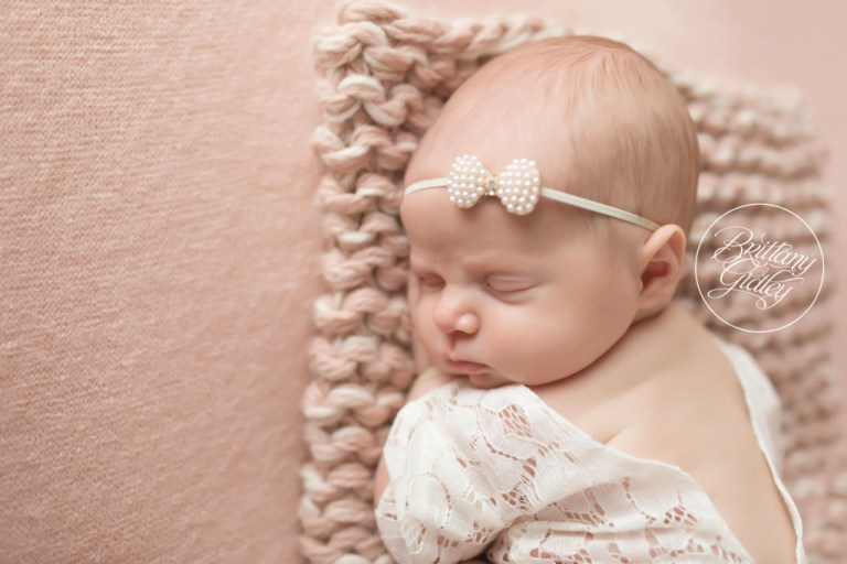 Blush Newborn Images | Cleveland Ohio Newborn Photography | Start With The Best | Brittany Gidley Photography