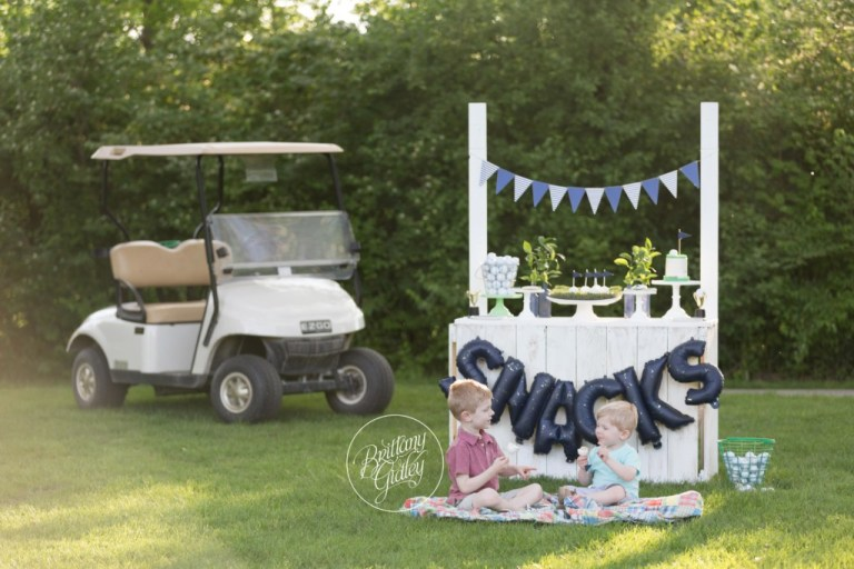 Golf Dream Session | Golf Themed Party | Child Photographer