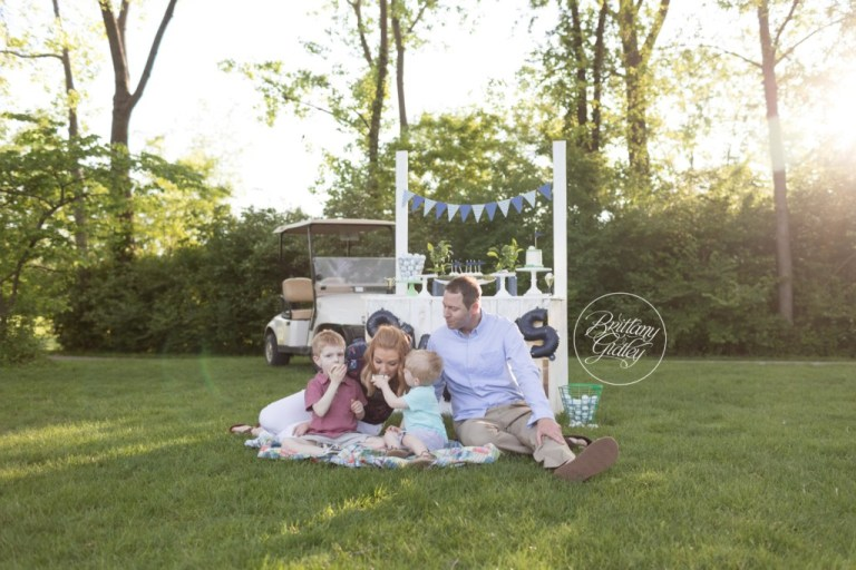 Golf Dream Session | Golf Themed Party | Golf Decor | Golf Family Photos