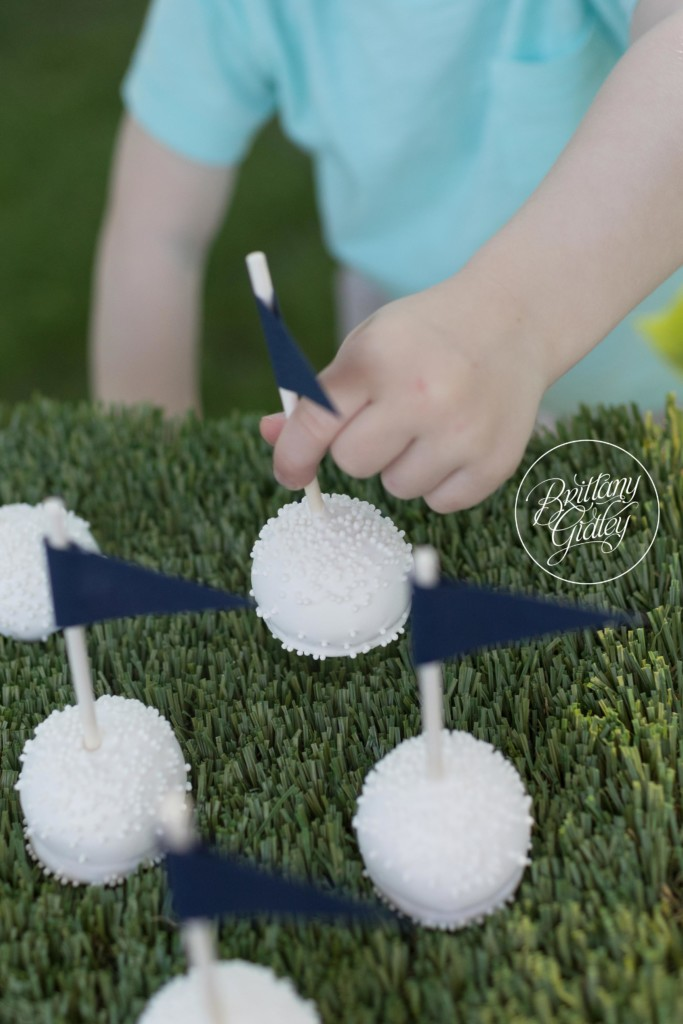 Golf Themed Party | Golf Decor | Golf Ball Cake Pops