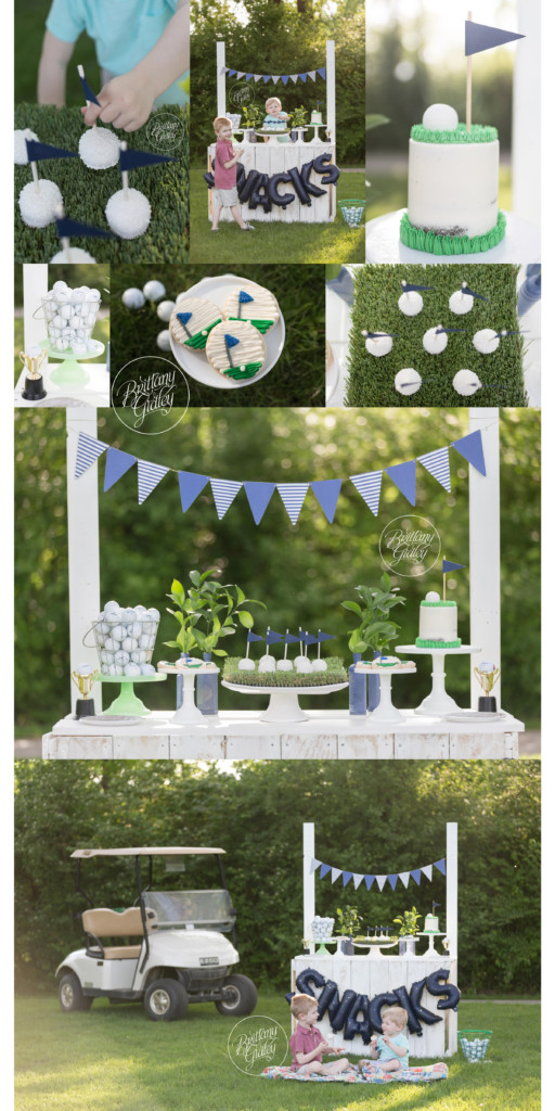 Child Golf Photo Shoot | Tee Time Dream Session | Golf Party Inspiration | Golf Birthday | Golf Pictures