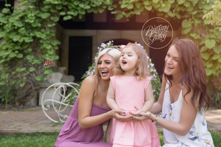 Secret Garden Dream Session | Butterfly Release | Butterfly Photography | Dream Session | Brittany Gidley Photography | Stan Hywet Hall & Gardens