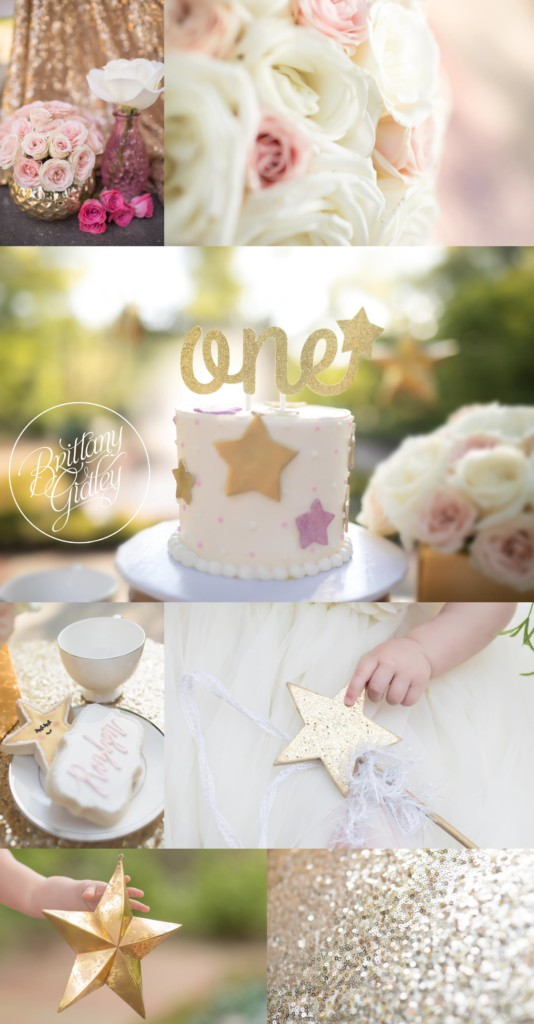 Twinkle Twinkle Little Star Dream Session | Twinkle Twinkle Little Star Cake Smash | Twinkle Twinkle Birthday Party | Little Star | 12 Month Baby | Whimsical Baby Photography | Dream Session | Start With The Best | www.brittanygidley.com