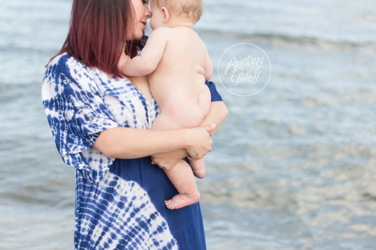 Baby Photography | Cleveland Baby Photographer | Edgewater Park | Start With The Best | Brittany Gidley Photography