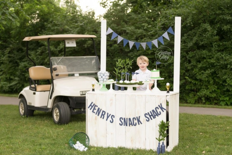Golf Photo Shoot Inspiration | Golf Party Inspiration | Dream Session | Hole In One | Brittany Gidley Photography LLC | www.brittanygidleyphotography.com