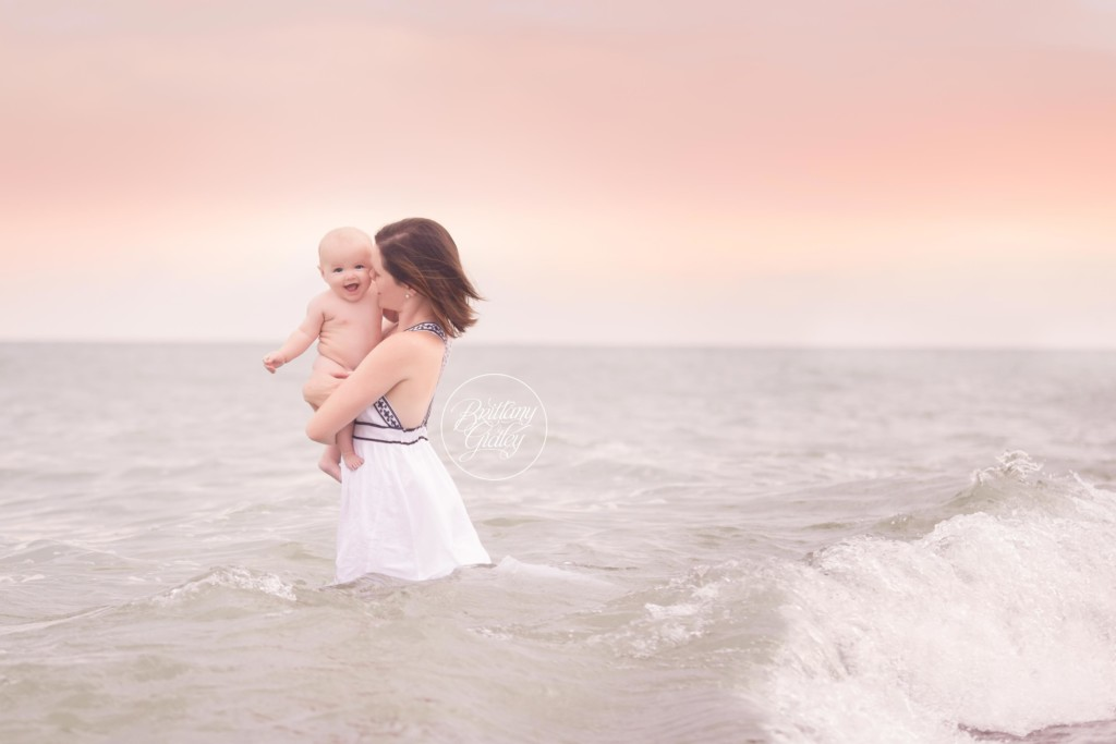 Beach Baby Photo Shoot | Thomas 6 Months | Mentor Headlands Beach