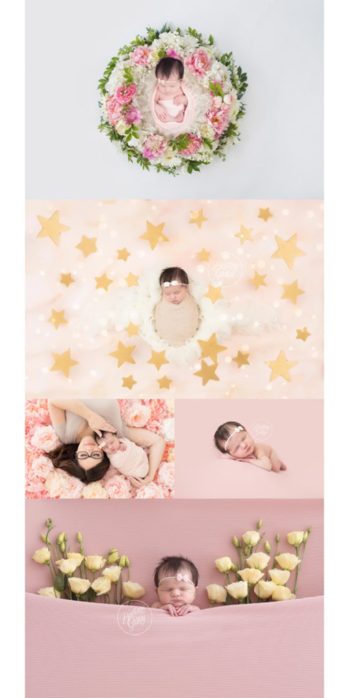 Floral Newborn Dream Session | Award Winning Newborn Photography | Newborn Photo Shoot Inspiration