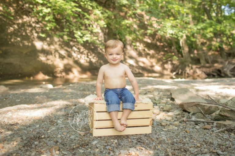 Summer Photo Shoot | Creek Life | Toddler Photography