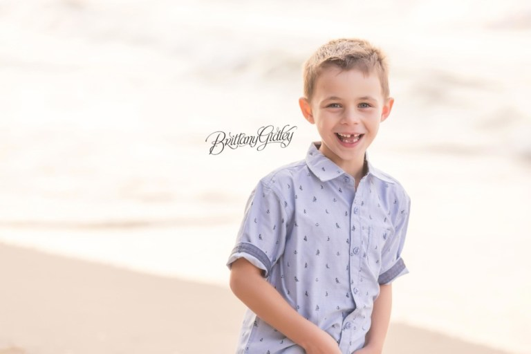 Rocky River Family Photographer | Huntington Beach | Cleveland Ohio | Brothers | Sunset