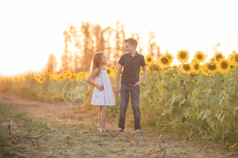 Westlake Family Photographer | Prayers From Maria Sunflower Field | Child Photography | Sunflower Field
