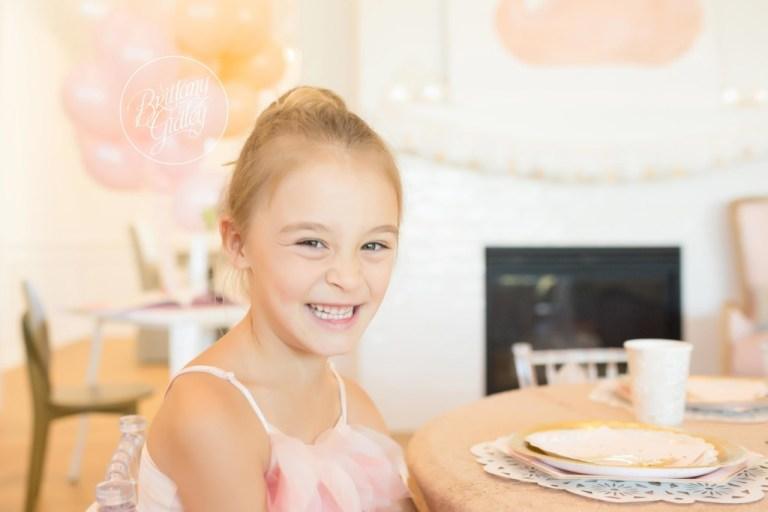 Fifth Birthday Ideas | Ballerina Birthday Party | Swan Queen | Brittany Gidley Photography LLC