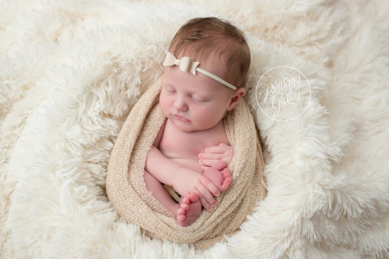 Westlake Newborn Photographer | Westlake Newborn Photography | Newborn Baby Photos | Baby Egg Pose | Brittany Gidley Photography LLC | Westlake, Ohio