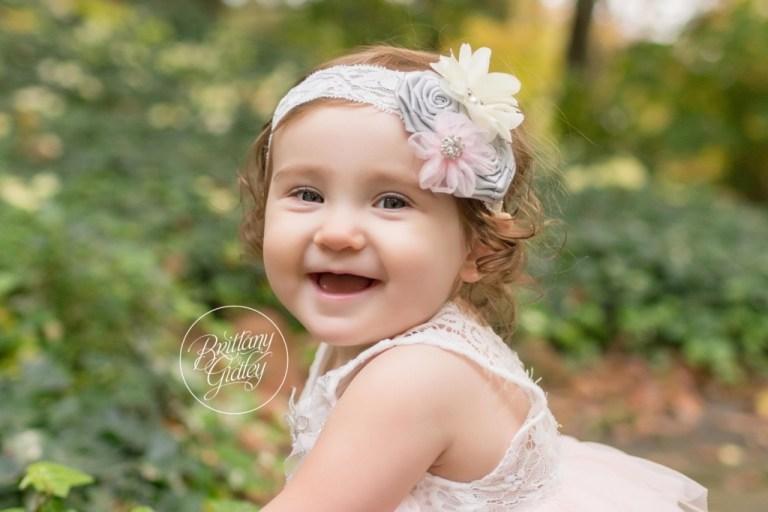 Brecksville Baby Photographer | Gabby 12 Months | Cleveland Cultural Gardens | Brecksville Ohio Photographer for Babies, Children & Families