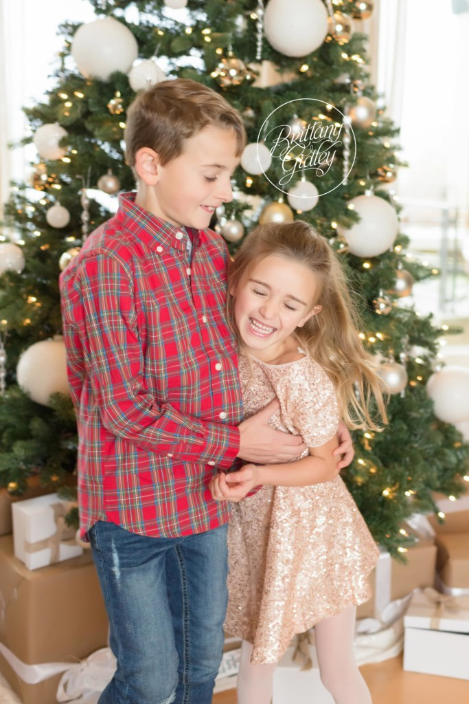 Kids Christmas Card Ideas | Brittany Gidley Photography LLC