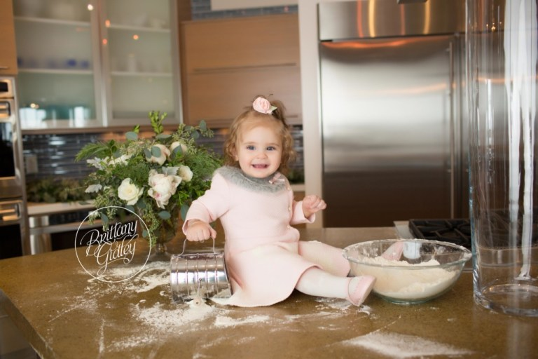Best Christmas Cookies | Making a Mess In the Kitchen Baking Christmas Cookies | Best Christmas Traditions For Children | Brittany Gidley Photography LLC