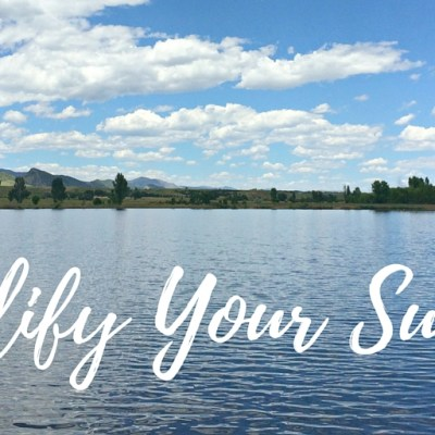 5 Easy Ways to Simplify Your Life This Summer