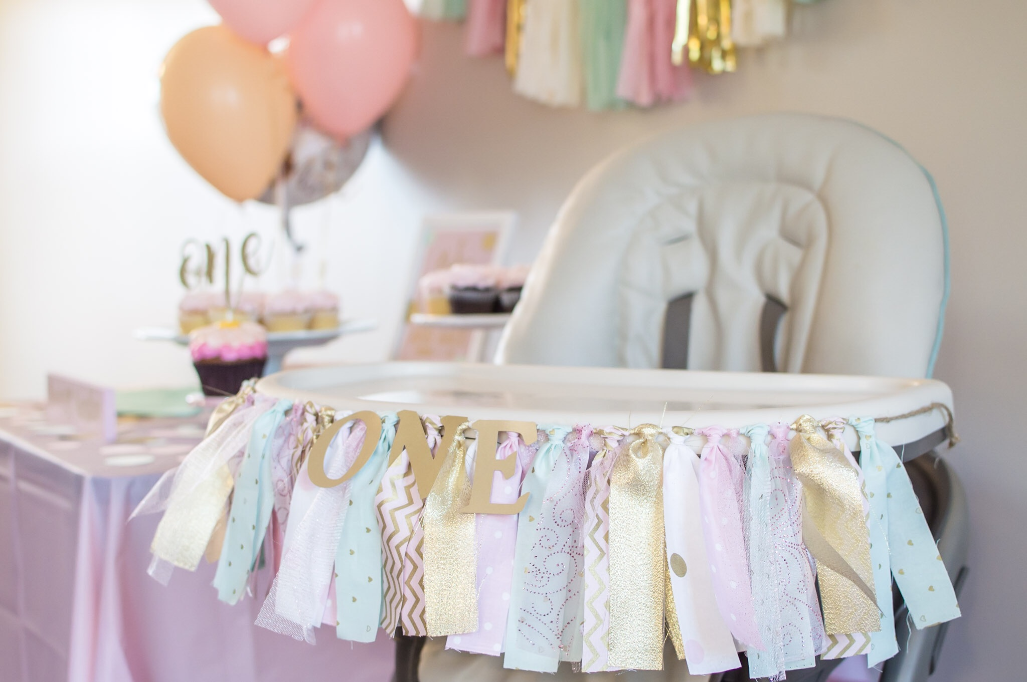 St birthday party decorations baby girl first birthday