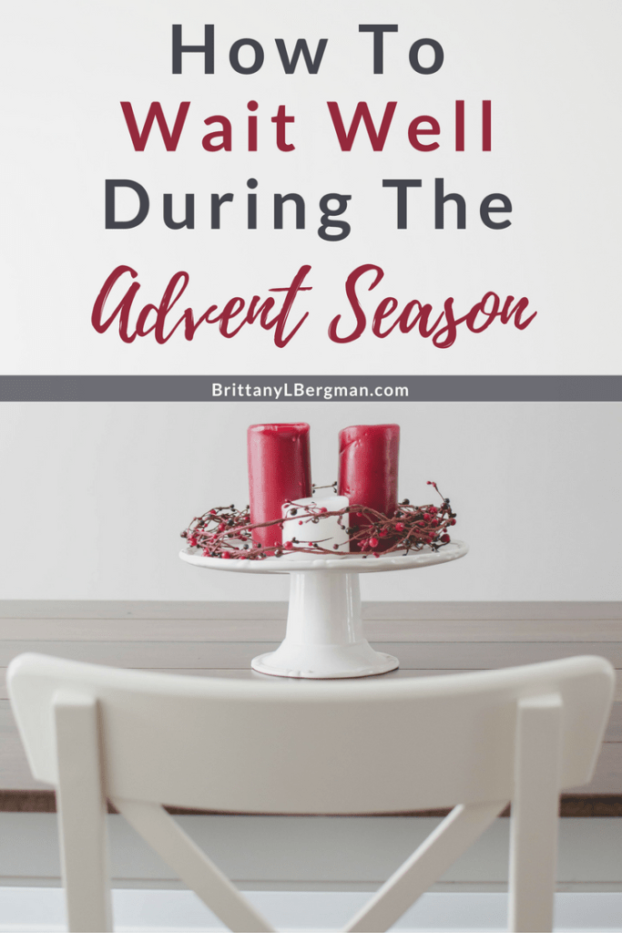 At it's core, Advent is a season of waiting, but we often stuff it to the brim with activities. What would it look like for us to tune in the true spirit of this season? To wait even when it's painful, laborious, and exhausting. To hope even when it's hard.