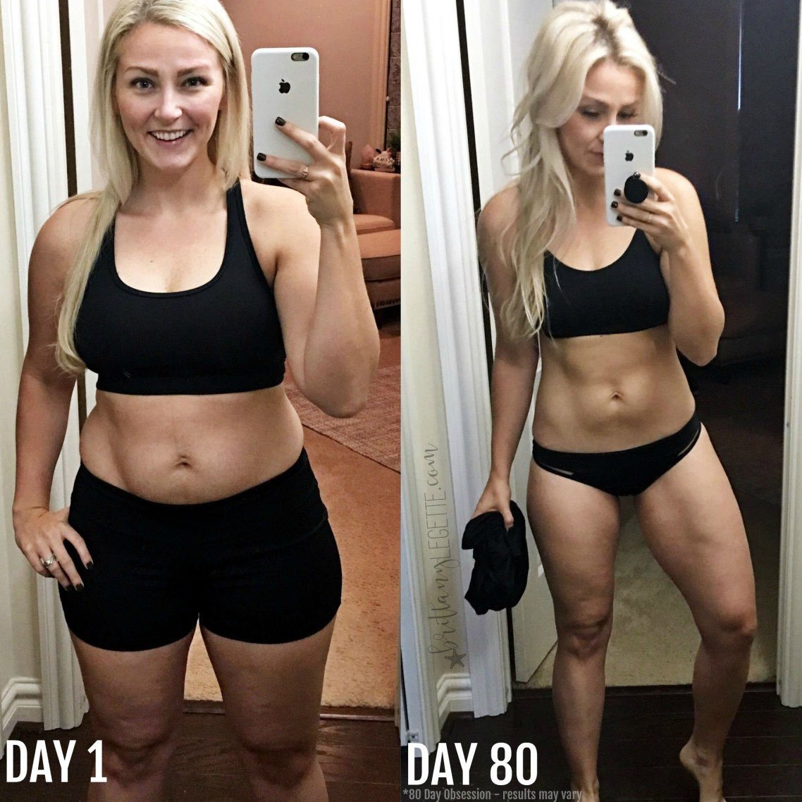 80 Day Obsession, final results, official test group, Brittany LeGette, new mom, IVF, infertility, post partum, postpartum, new mom, breastfeeding, meal plan, milk supply