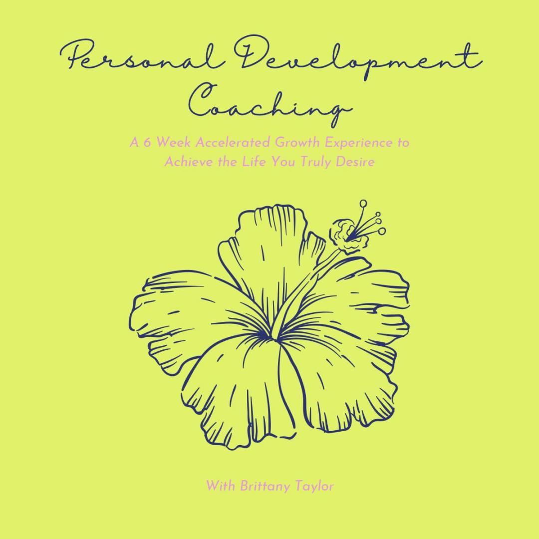 Personal Development Coaching 6 Weeks