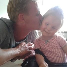 JUNI 2014 - onderonsje met papa