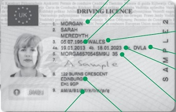 UK EU driving licence
