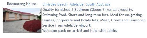 Boomerang House, Christies Beach, Adelaide