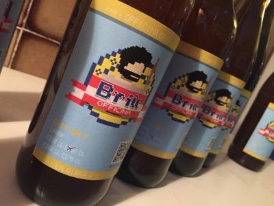 Briù Dot Net is back - la birra ad 8 bit - lager/kolsch/golden ale