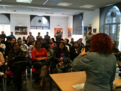 IRMO puts on classes and workshops for the Latin-American community in Brixton