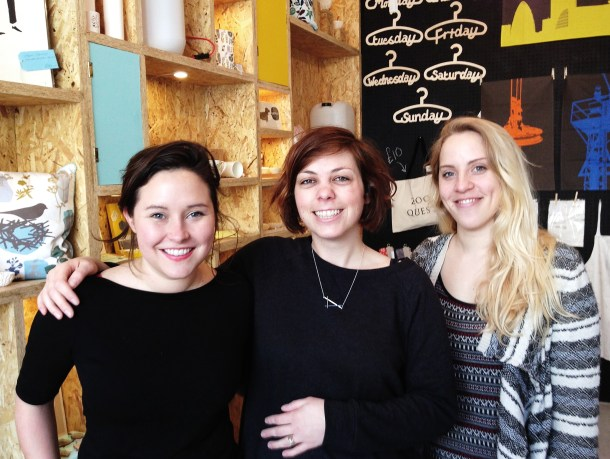 Turpentine owners: Alice, Judith and Amber