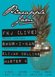 pineapple jam leaflet