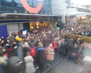 Commuters have been facing heavy queues every morning since January