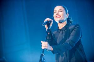 Jessie Ware at Brixton Academy. Photo credit: Nick Pickles