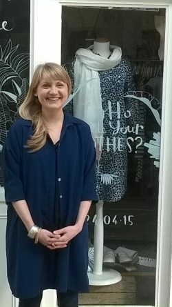 Kate Richards, owner of The Keep Boutique
