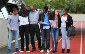 Evelyn Grace Academy students celebrate their results
