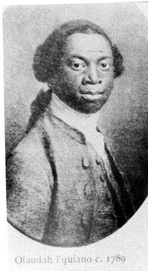 Olaudah Equiano. Reproduced with kind permission of Black Cultural Archives
