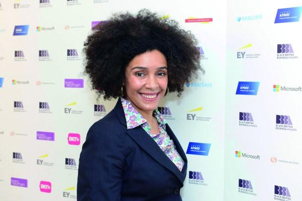 Rachel Wang at the 2015 Black British Business Awards