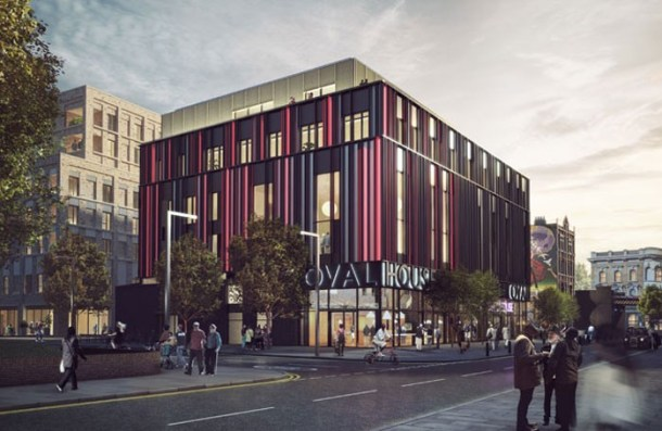 Architect's impression of Ovalhouse's new home in Brixton. Photo: Picture Plane Ltd