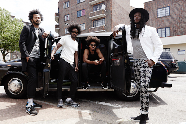 Brixton band The Thirst. Photo by Vincent Dolman.