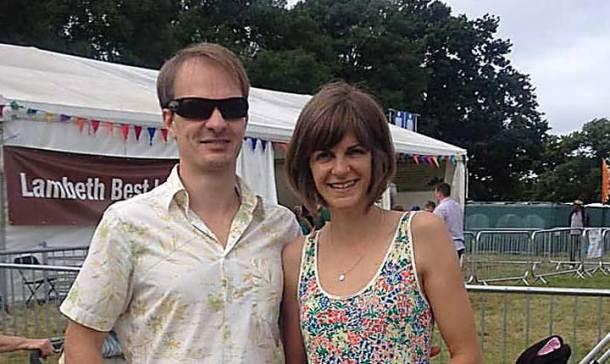 Katie and partner