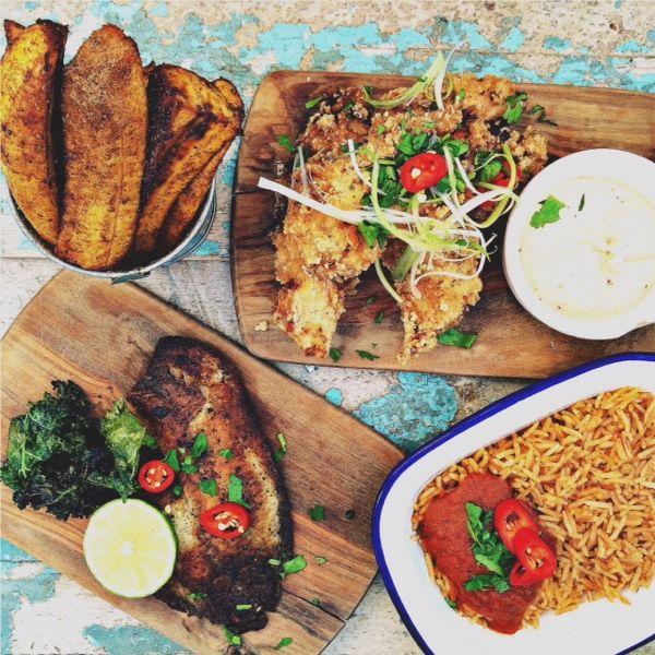 Zoe's Ghana Kitchen Jollof Rice