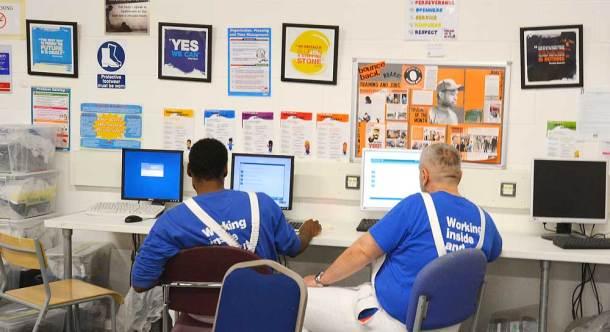 Trainees also gain IT skills