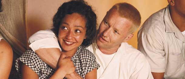 Still from the film Loving
